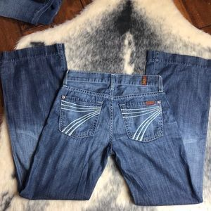 7 For All Mankind Dojo Jeans 24